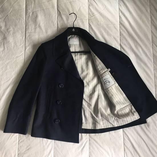 Thom Browne Black Fleece Modern Classic Peacoat Size US XS / EU 42 / 0 - 1