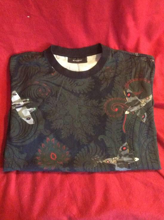 Givenchy Fighter Jets Paisley T shirt Size US L / EU 52-54 / 3 - 1