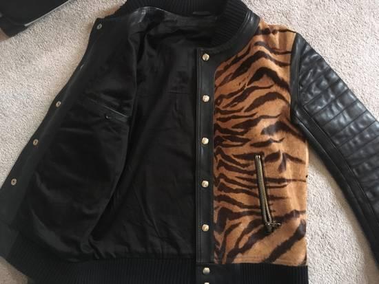 Balmain Rare Tiger Chest Biker Jacket Size US S / EU 44-46 / 1 - 11