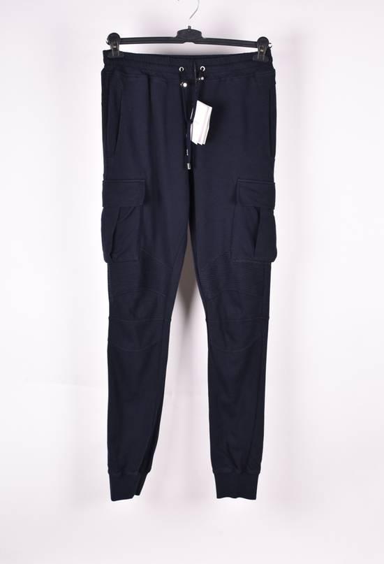Balmain Paris Men Biker Style Cargo Sweatpants Trousers Size US 32 / EU 48