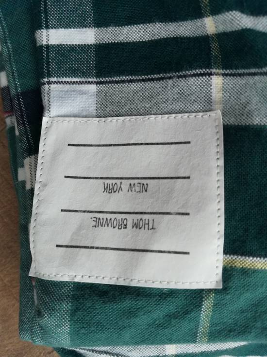 Thom Browne thom browne classic oxford green madras Size US L / EU 52-54 / 3 - 3
