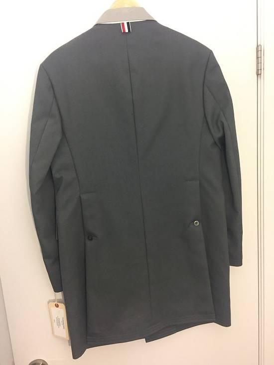 Thom Browne Chesterfield Overcoast Dark Gray Macintosh Size US M / EU 48-50 / 2 - 1