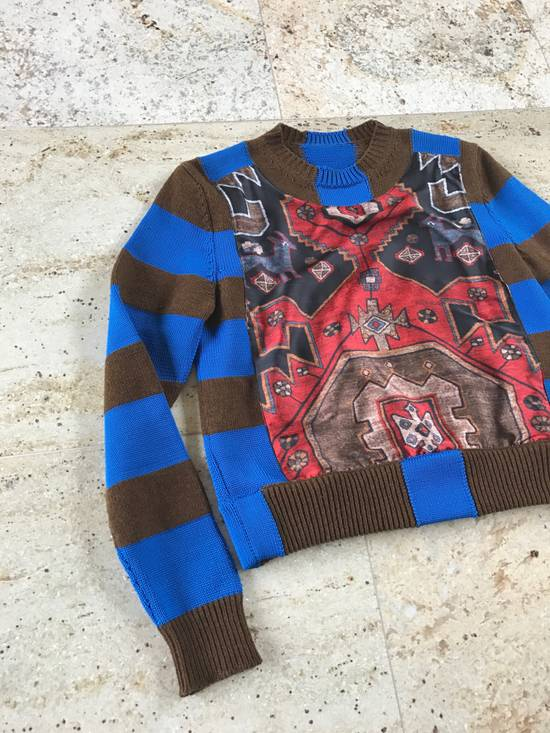 Givenchy Runway Persian Printed Knit Sweater Size US XS / EU 42 / 0 - 3