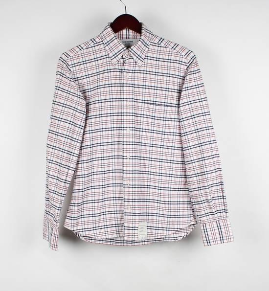 Thom Browne Thom Browne Men White/Multi Shirt Size S Size US S / EU 44-46 / 1