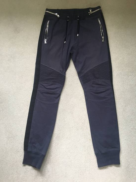 Balmain Navy Sweatpants Size US 32 / EU 48