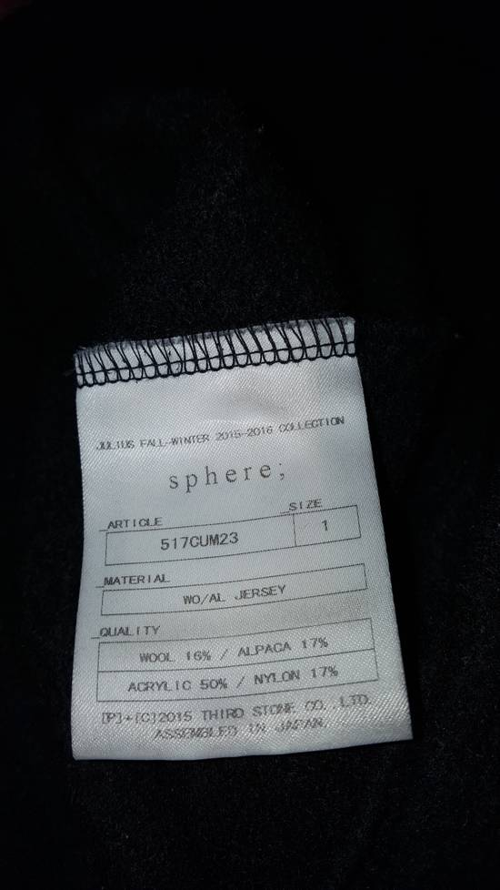 Julius 15AW sweater black Size US S / EU 44-46 / 1 - 6