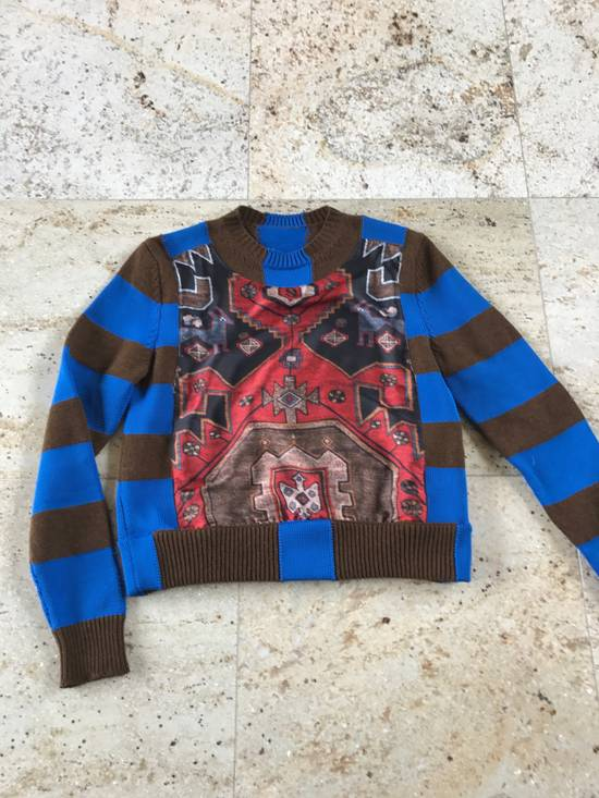 Givenchy Runway Printed Knit Sweater Size US XS / EU 42 / 0 - 5