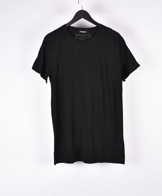 Balmain Paris Men Black Crew Neck T-Shirt, NWT Size US XL / EU 56 / 4