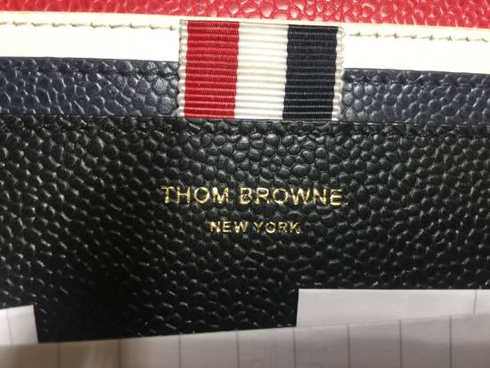 Thom Browne Tricolor Long Zip Around Wallet Size ONE SIZE - 3