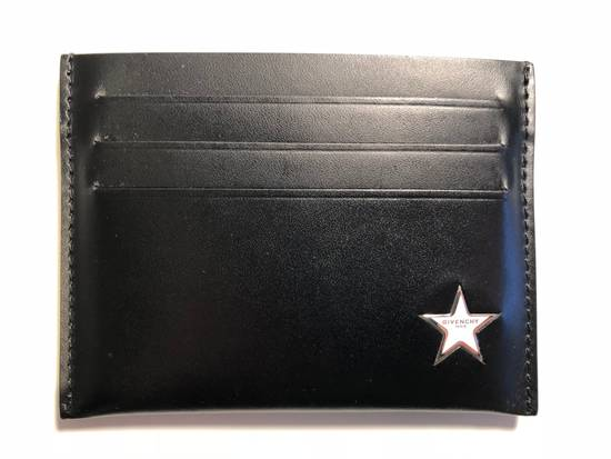Givenchy Star Leather Card Case Size ONE SIZE