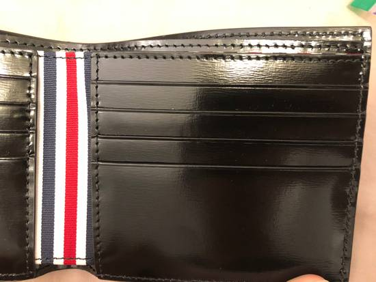 Thom Browne billfolder with painted red, white and blue strip Size ONE SIZE - 2