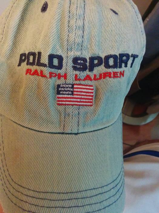 d19eeeb5bc0 Polo Ralph Lauren Denim vintage Polo Sport cap Size one size - Hats ...