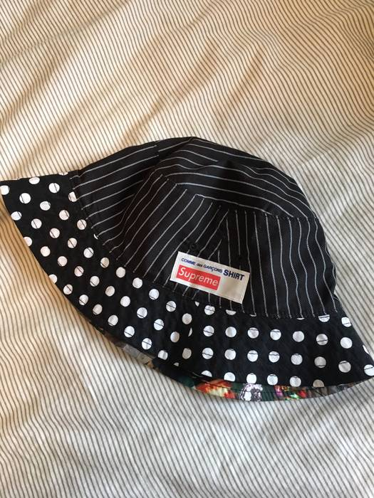 2329f2d69f8 Supreme Supreme x CDG Bucket Hat Size one size - Hats for Sale - Grailed
