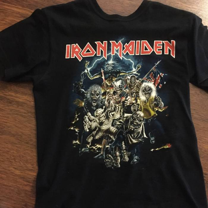 1c12efc15ff Iron Maiden Best of the beast 90 s vintage shirt Size s - Long ...