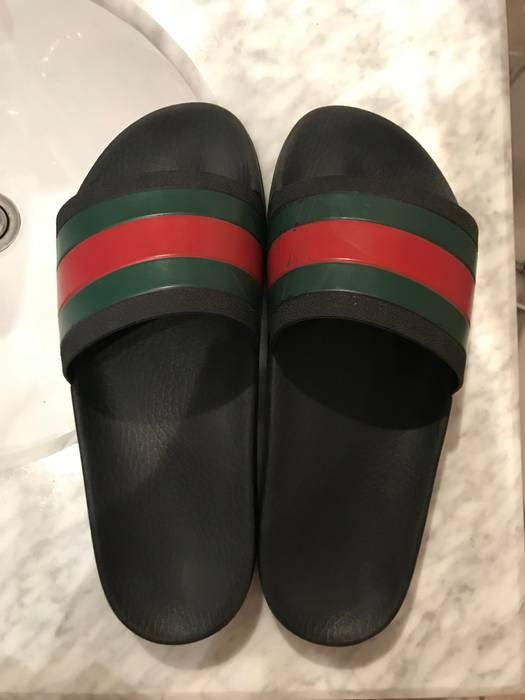 e8eaa5c660b6 Gucci Gucci Pursuit 72 Slides Size 9 - Sandals for Sale - Grailed