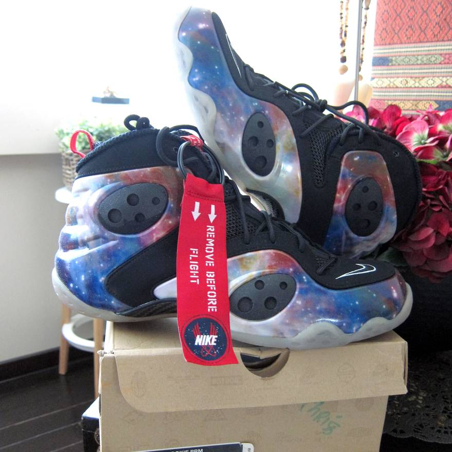 71fab344bf3 ... inexpensive nike 100 supreme new auth nike air zoom rookie prm galaxy penny  foamposite size us