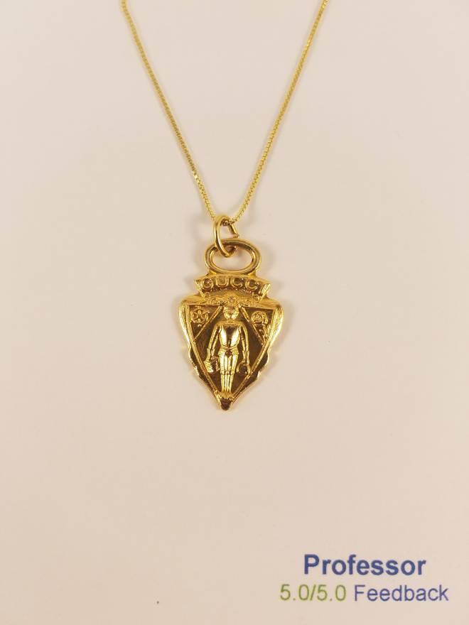 Gucci 24k gold necklace nwt size one size jewelry watches for gucci 24k gold necklace nwt size one size aloadofball Choice Image