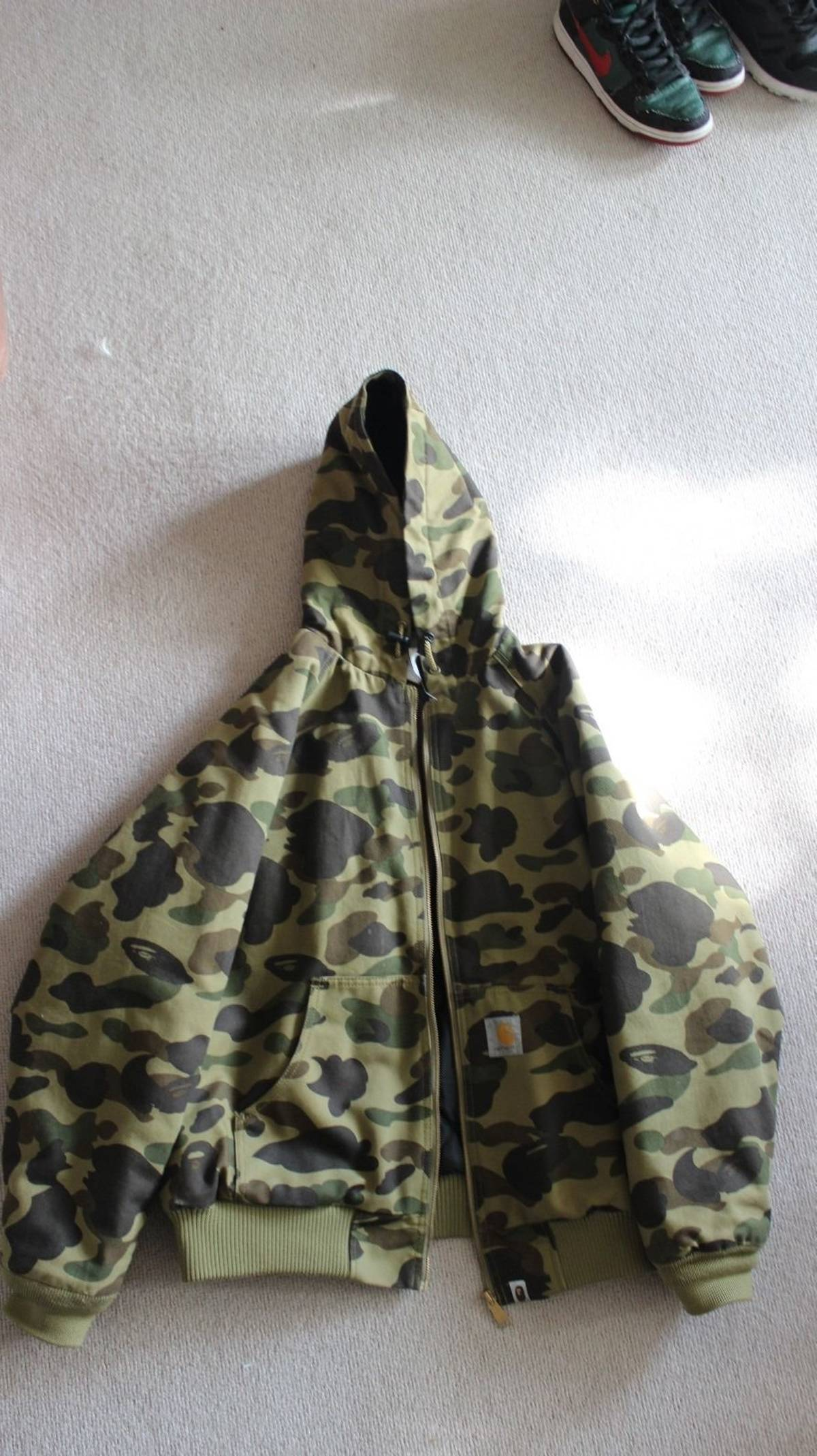 7e7361c9711c Bape Rare Bathing Ape X Carhartt Active Jacket - Japan Only 2006 1 300  Limited Release