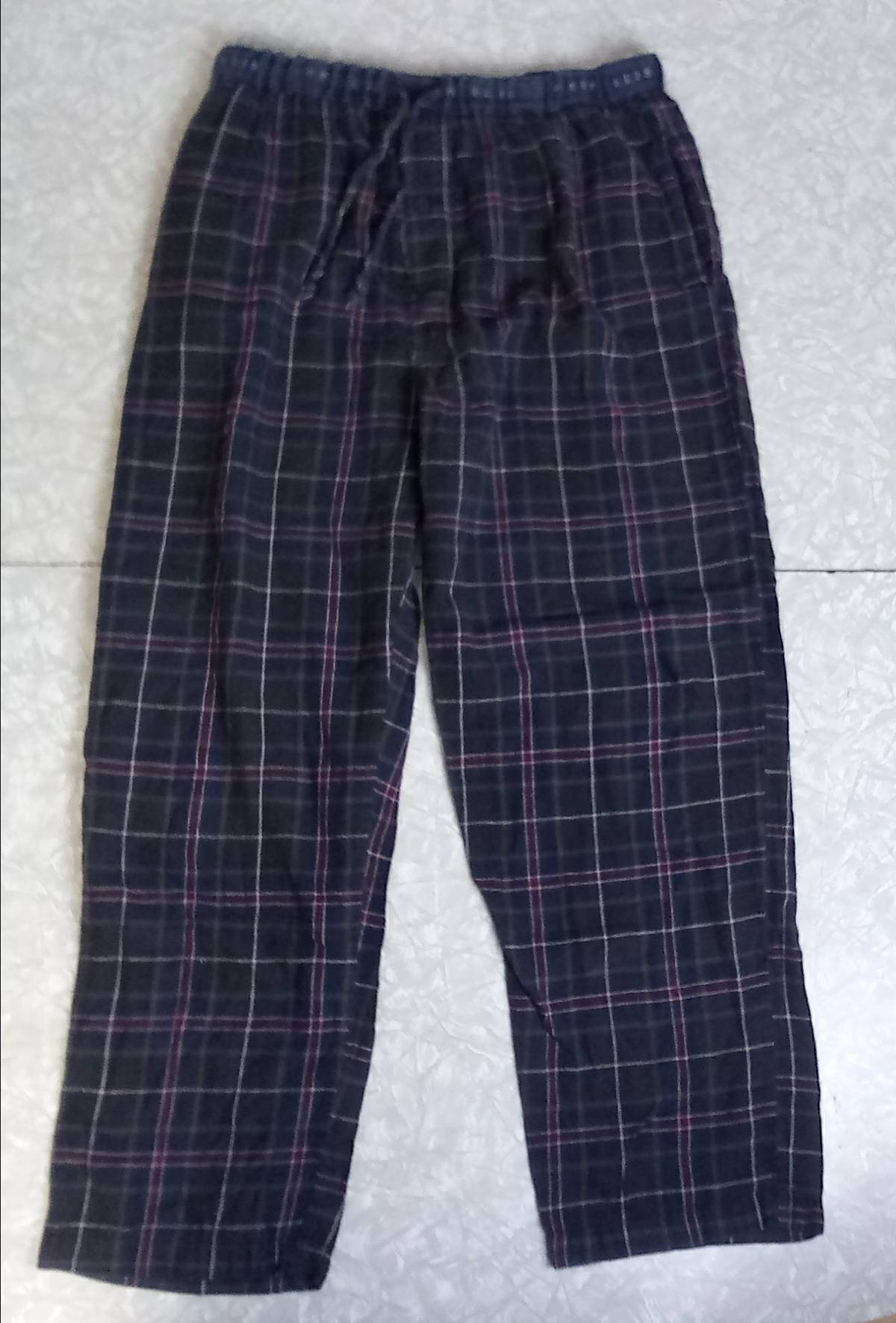 Unlisted PERRY ELLIS Men s L Sleepwear Lounge Flannel Pajama Pants Green  Navy Blue Maroon Size 38 - Casual Pants for Sale - Grailed 105292c6b