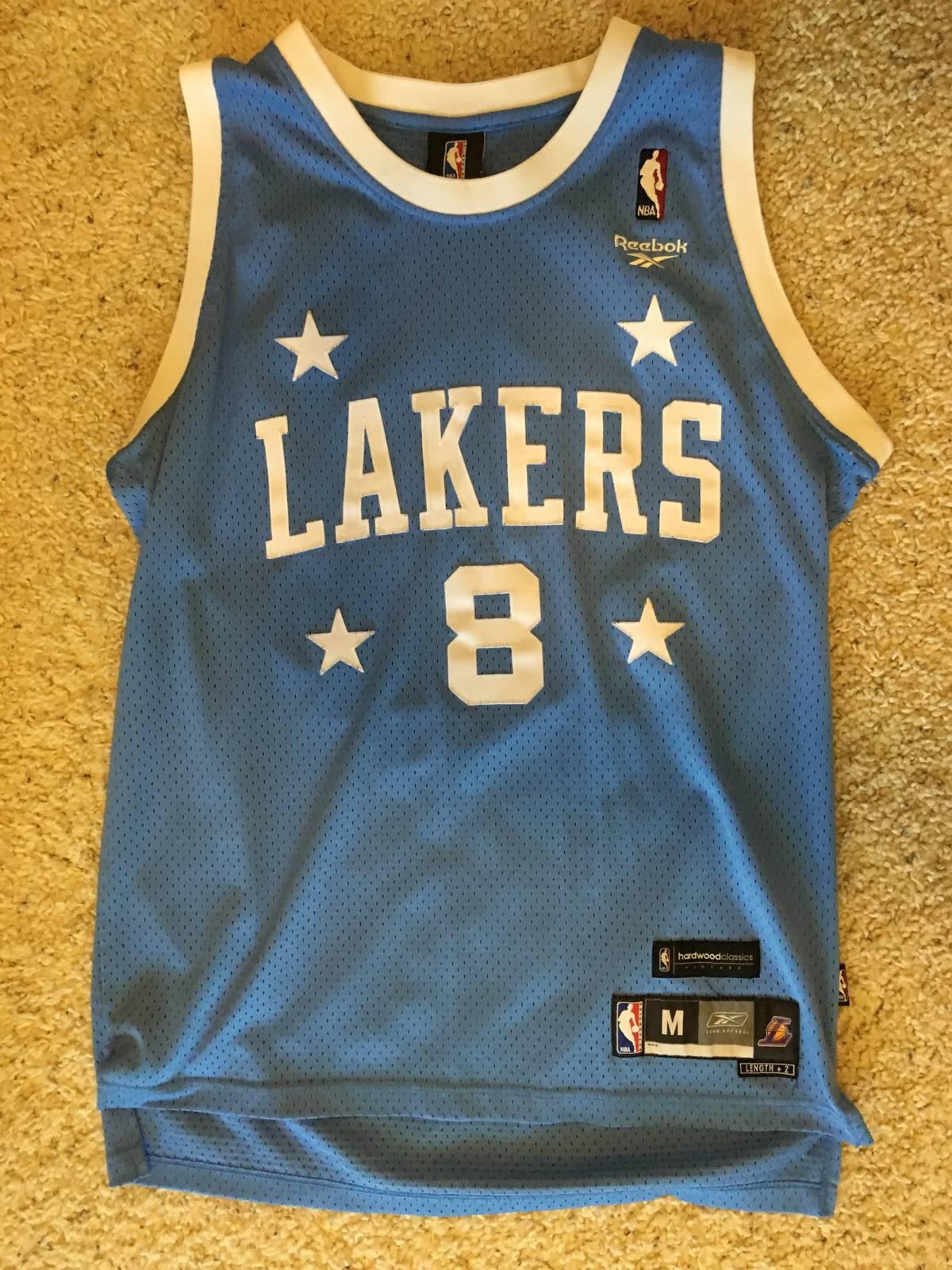 9fe81cde7 Reebok ×. Retro Vintage Kobe Bryant MPLS Laker Jersey
