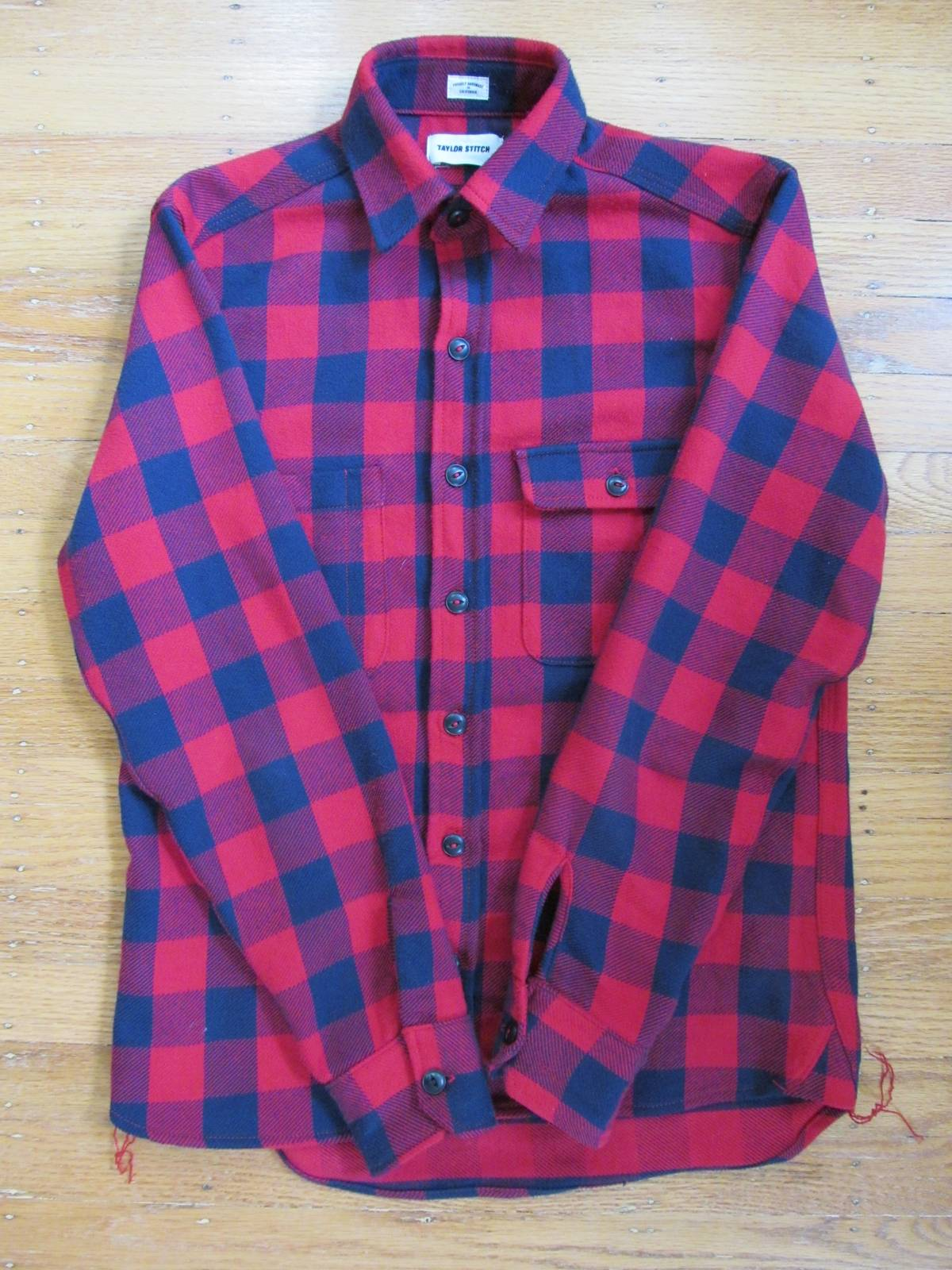 0454860ec759 Taylor Stitch The Moto Utility Shirt Red Buffalo Plaid S Size s - Shirts  (Button Ups) for Sale - Grailed