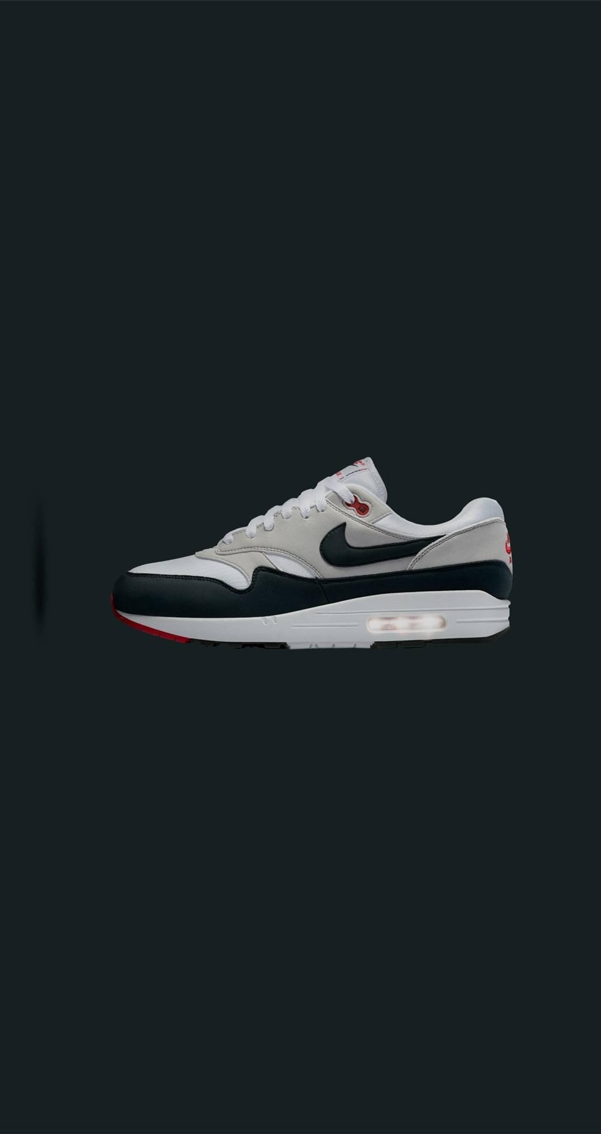ed297b9cdc Nike Nike Air Max 1 '30th Anniversary' Obsidian & White 908375 104 ...
