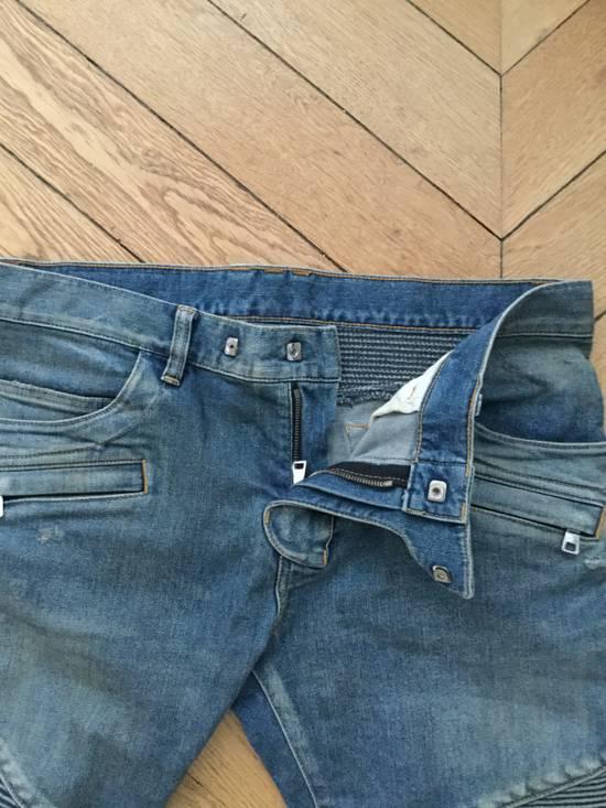 Balmain Balmain Biker Jeans Slim Fit Size 33 Size US 33 - 5