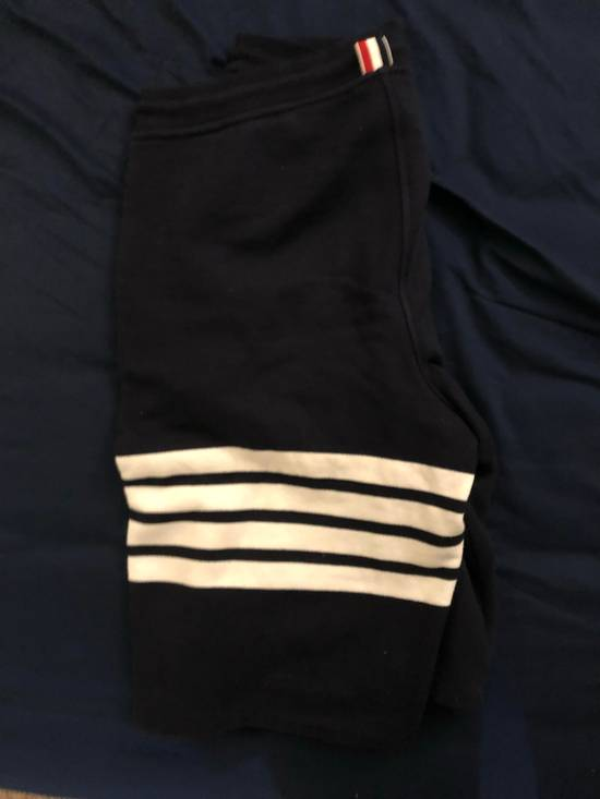 Thom Browne Blue four bars shorts Size US 32 / EU 48