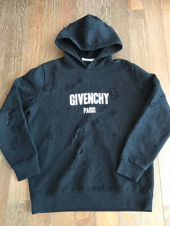 Givenchy Givenchy distressed logo hoodie Size US L / EU 52-54 / 3