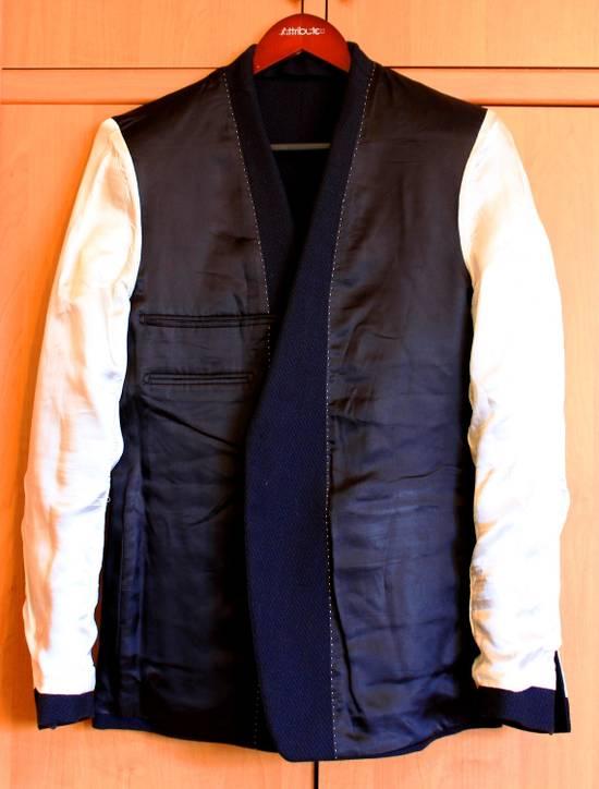 Dries Van Noten luxury blazer sportcoat wool cotton mix Size 38R - 2