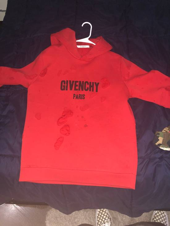 Givenchy Red Givenchy Sweater Size US L / EU 52-54 / 3