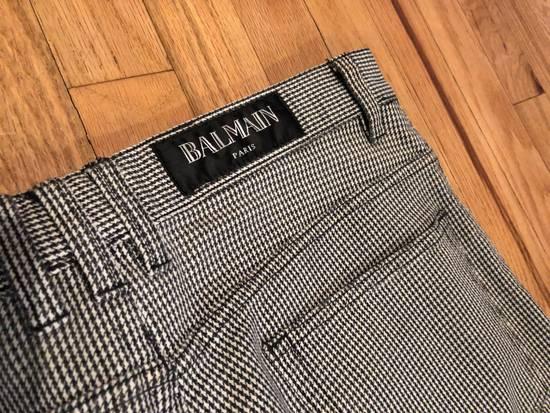 Balmain Balmain Biker Pants Houndstooth Size US 32 / EU 48 - 5