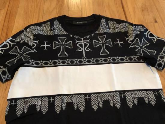 Givenchy Givenchy T Shirt Black White Cross Print Size US M / EU 48-50 / 2 - 1
