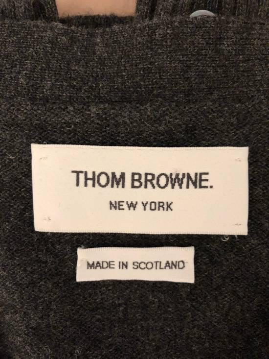 Thom Browne 4 bar cashmere cardigan Size US XXL / EU 58 / 5 - 2