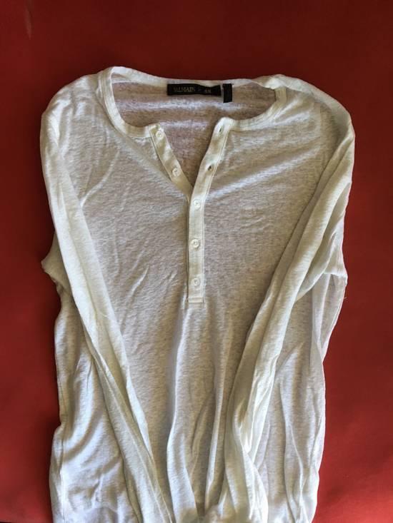 Balmain Balmain X H&M Long Sleeve Shirt Size US S / EU 44-46 / 1