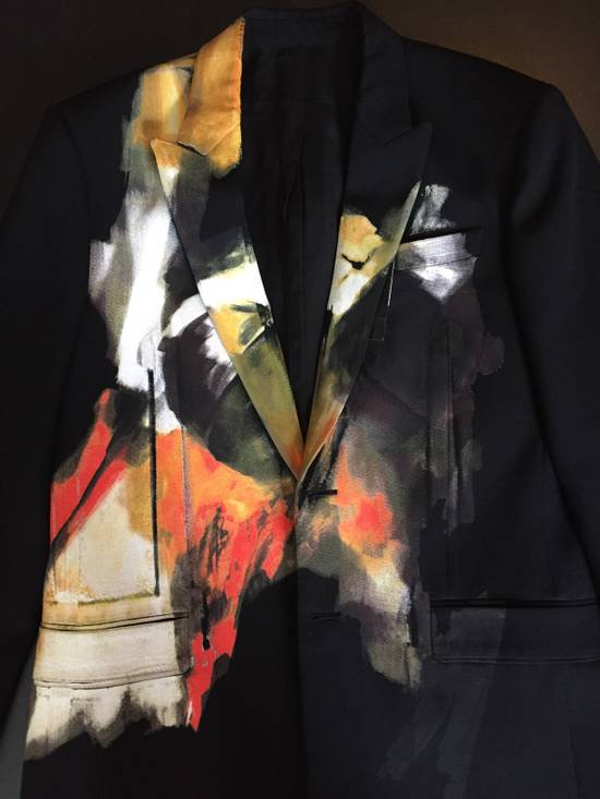 Givenchy Abstract Painted Jacket Size 38R - 1