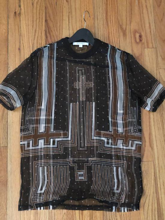Givenchy Givenchy Cross Print Shirt Size US XS / EU 42 / 0 - 3