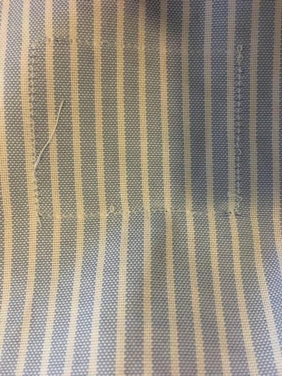 Thom Browne Striped Button Up Size US L / EU 52-54 / 3 - 5