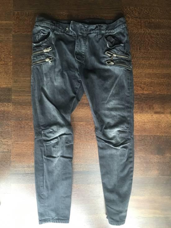 Balmain Extremely rare biker jeans Size US 32 / EU 48