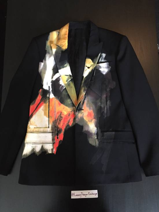 Givenchy Abstract Painted Jacket Size 38R