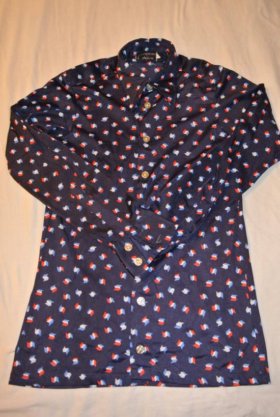Givenchy Givenchy shirt blue vintage France flag print made in Italy size XS Size US XS / EU 42 / 0 - 2