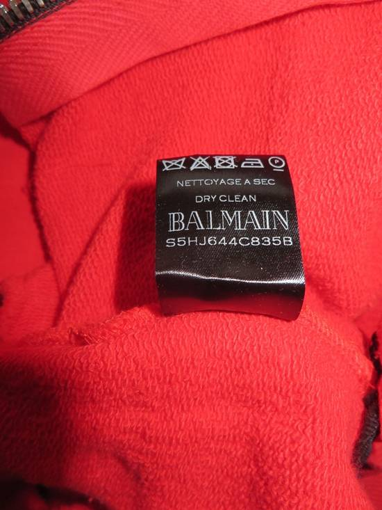 Balmain Sleeveless hoodie with Badge Size US M / EU 48-50 / 2 - 10