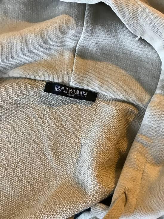 Balmain Balmain Beige Military Zipper Hoodie Size US M / EU 48-50 / 2 - 3