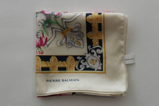 Balmain Pierre Balmain Shawl Scarf Rare Vintage Luxury Exclusive 🔥 Final Price 🔥 Final Drop or delete !! Need Gone Today !! Size ONE SIZE - 11