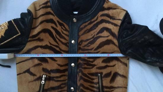 Balmain Rare Tiger Chest Biker Jacket Size US S / EU 44-46 / 1 - 21