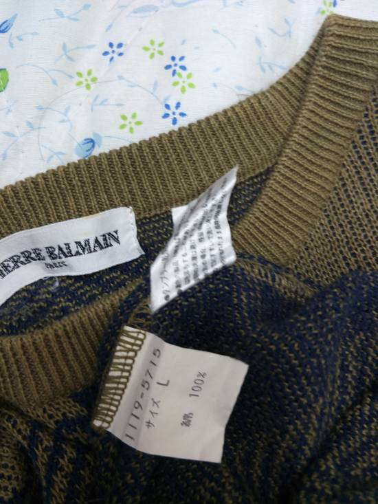 Balmain Pierre Balmain Paris Knitwear Spellout Vintage Size US L / EU 52-54 / 3 - 5