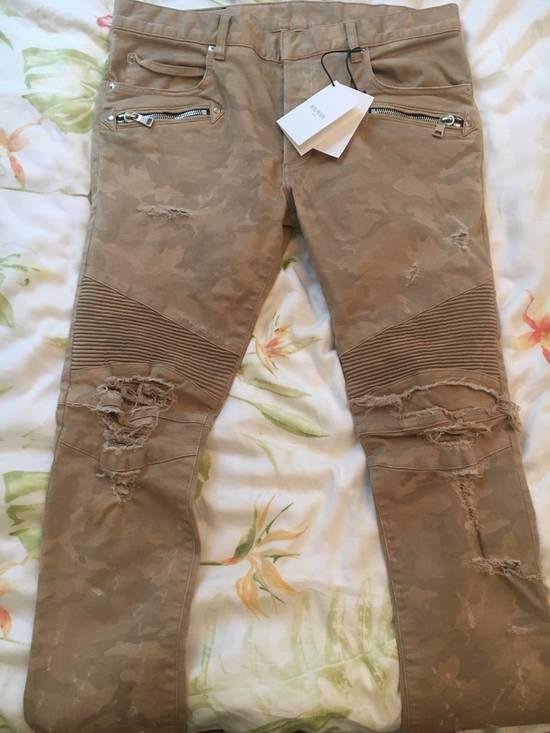 Balmain Balmain Camouflage Biker Jeans Size US 34 / EU 50