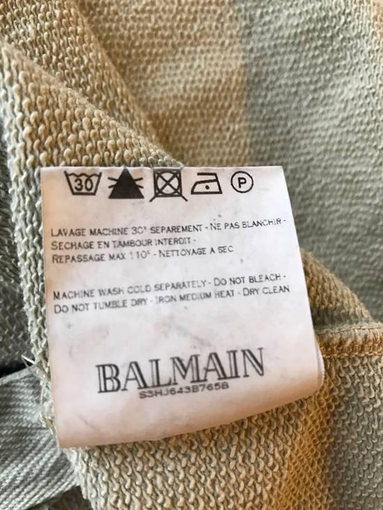 Balmain Balmain Beige Military Zipper Hoodie Size US M / EU 48-50 / 2 - 5