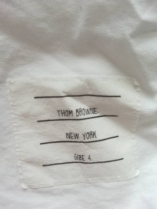 Thom Browne thom browne classic shirt with anchor embroidery sleeves Size US L / EU 52-54 / 3 - 4