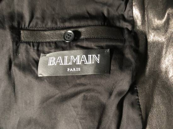 Balmain Balmain Paris Handwoven Short-sleeve Leather Jacket Size US S / EU 44-46 / 1 - 6